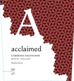 2017 Acclaimed Rutherford Cabernet Sauvignon