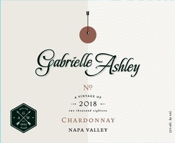 Gabrielle Ashley Napa Valley Chardonnay